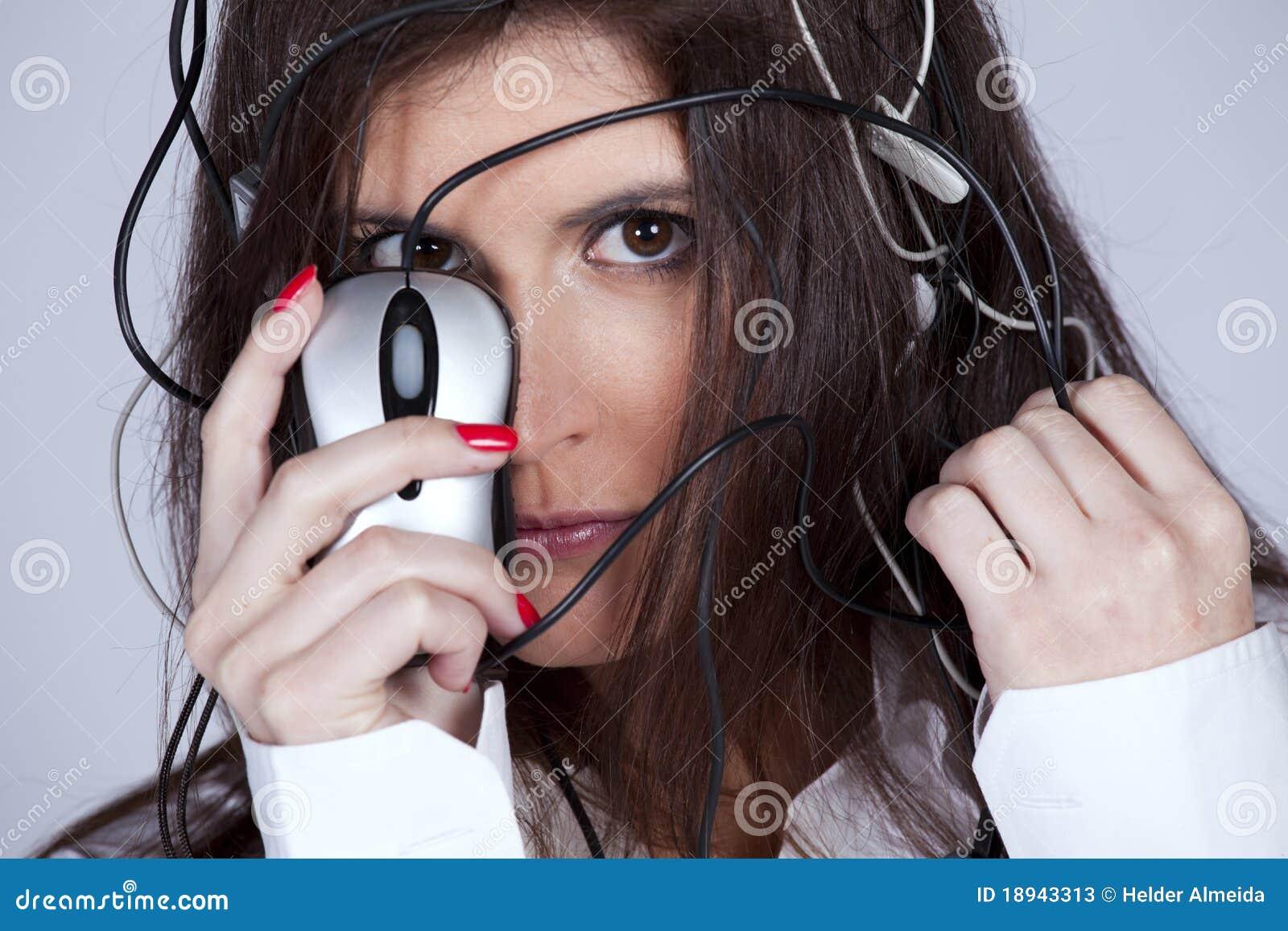 Cibernetic woman