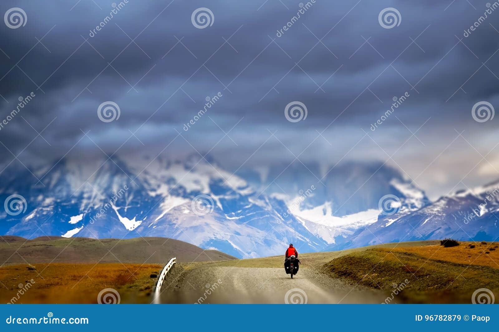 Ciclagem em Torres del Paine NP