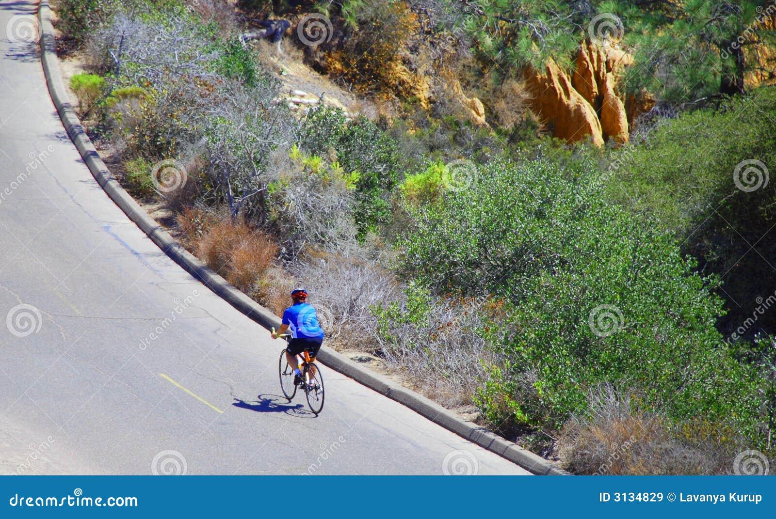 Ciclista solo