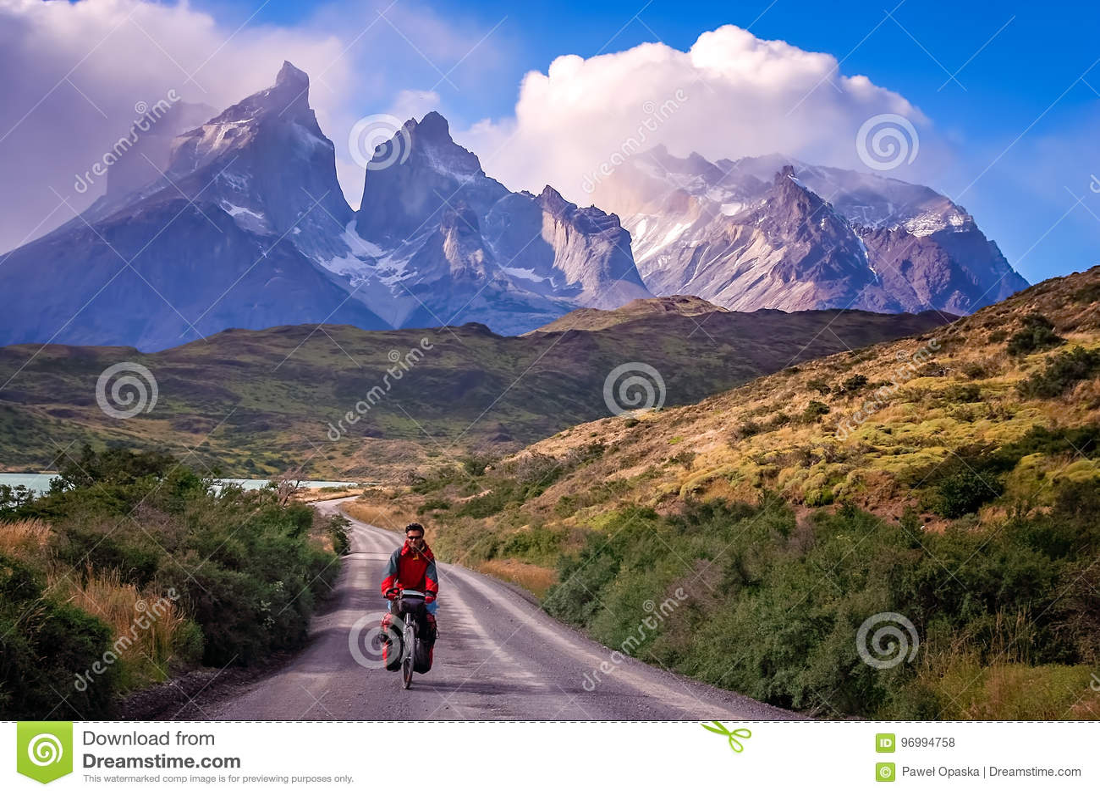 Ciclo en Torres del Paine NP