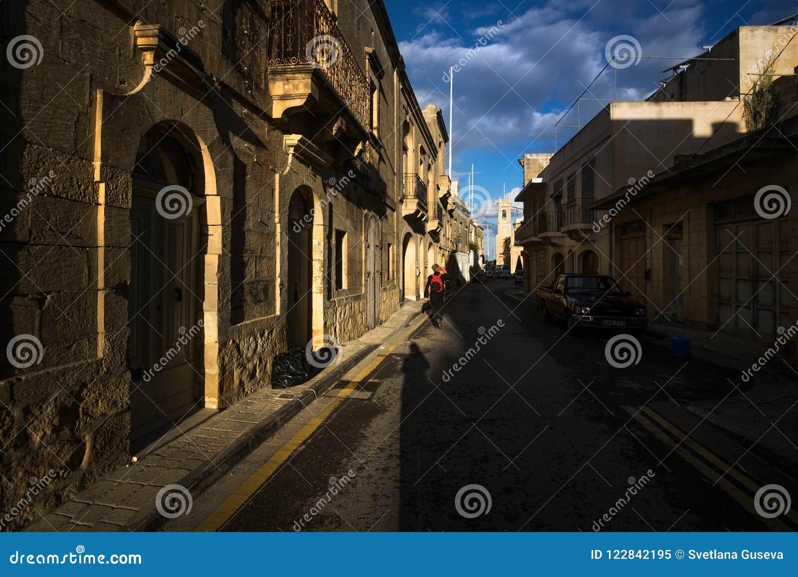 A cidade antiga de Gozo malta