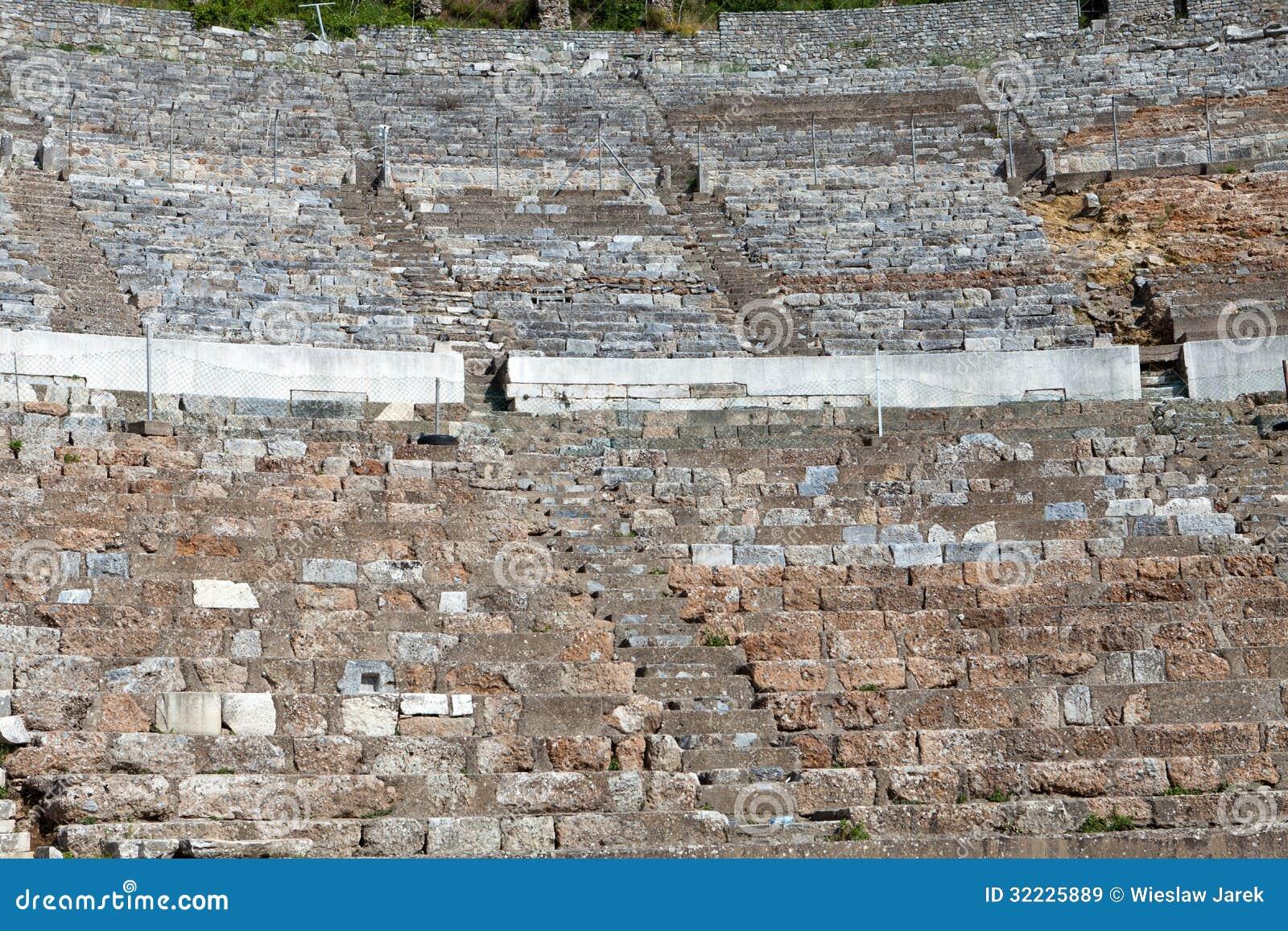 Download A cidade antiga Ephesus imagem de stock. Imagem de heritage - 32225889