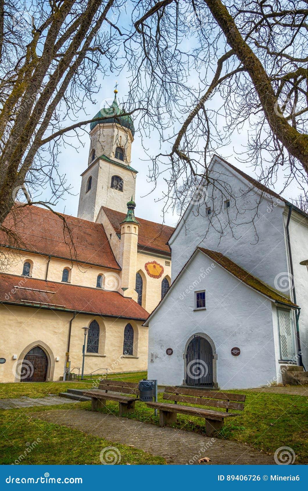 Cidade bávara Isny im Allgau