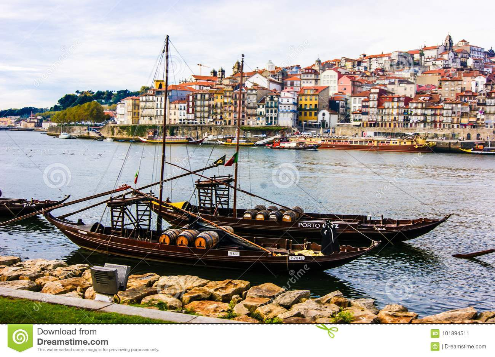 Cidade bonita do Porto Portugal para suas cores e sua fotografia profissional da cultura tomadas pela fotografia venezuelana