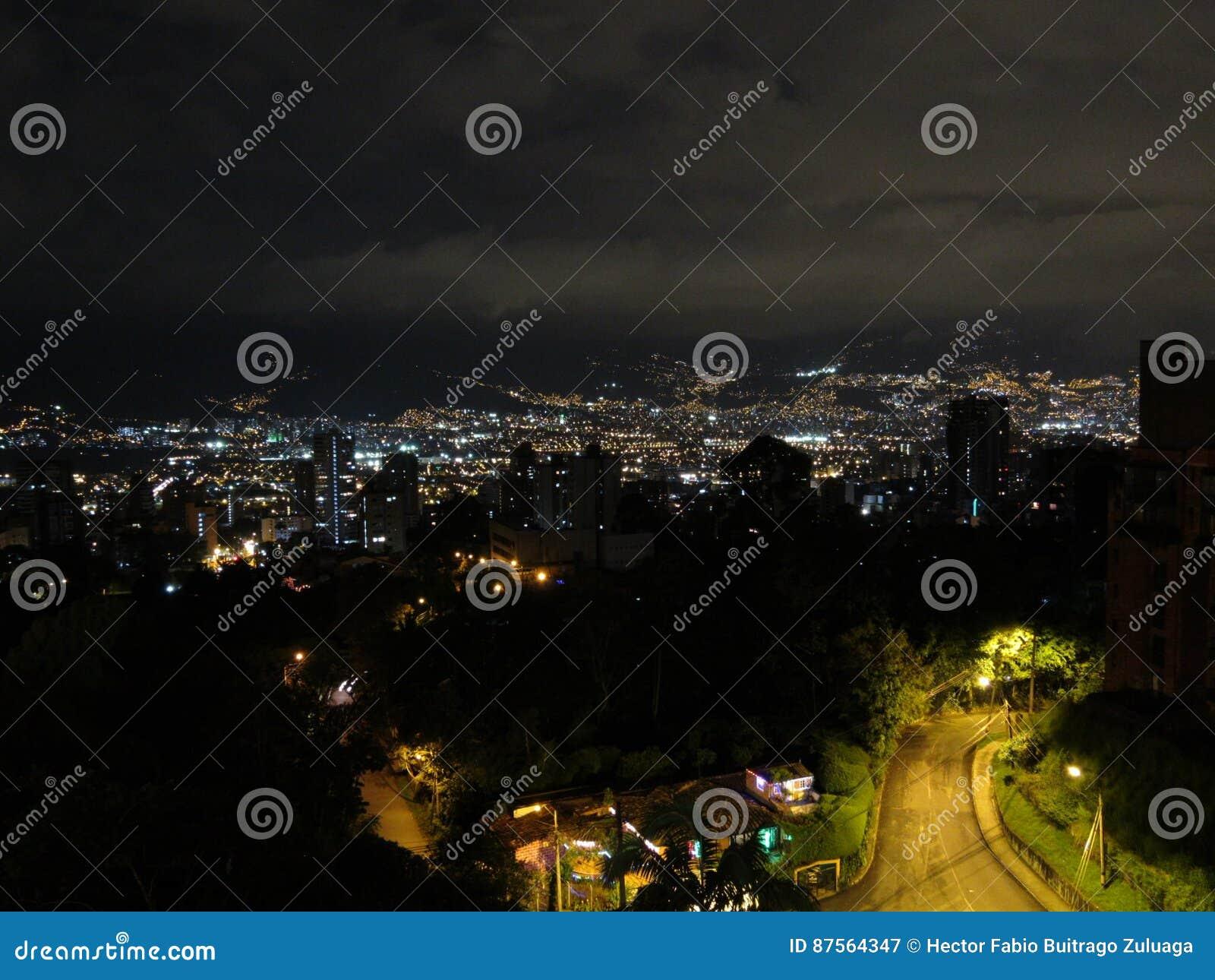 Cidade Colômbia de MedellÃn