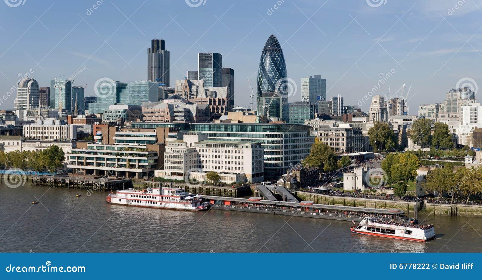 Cidade da skyline de Londres