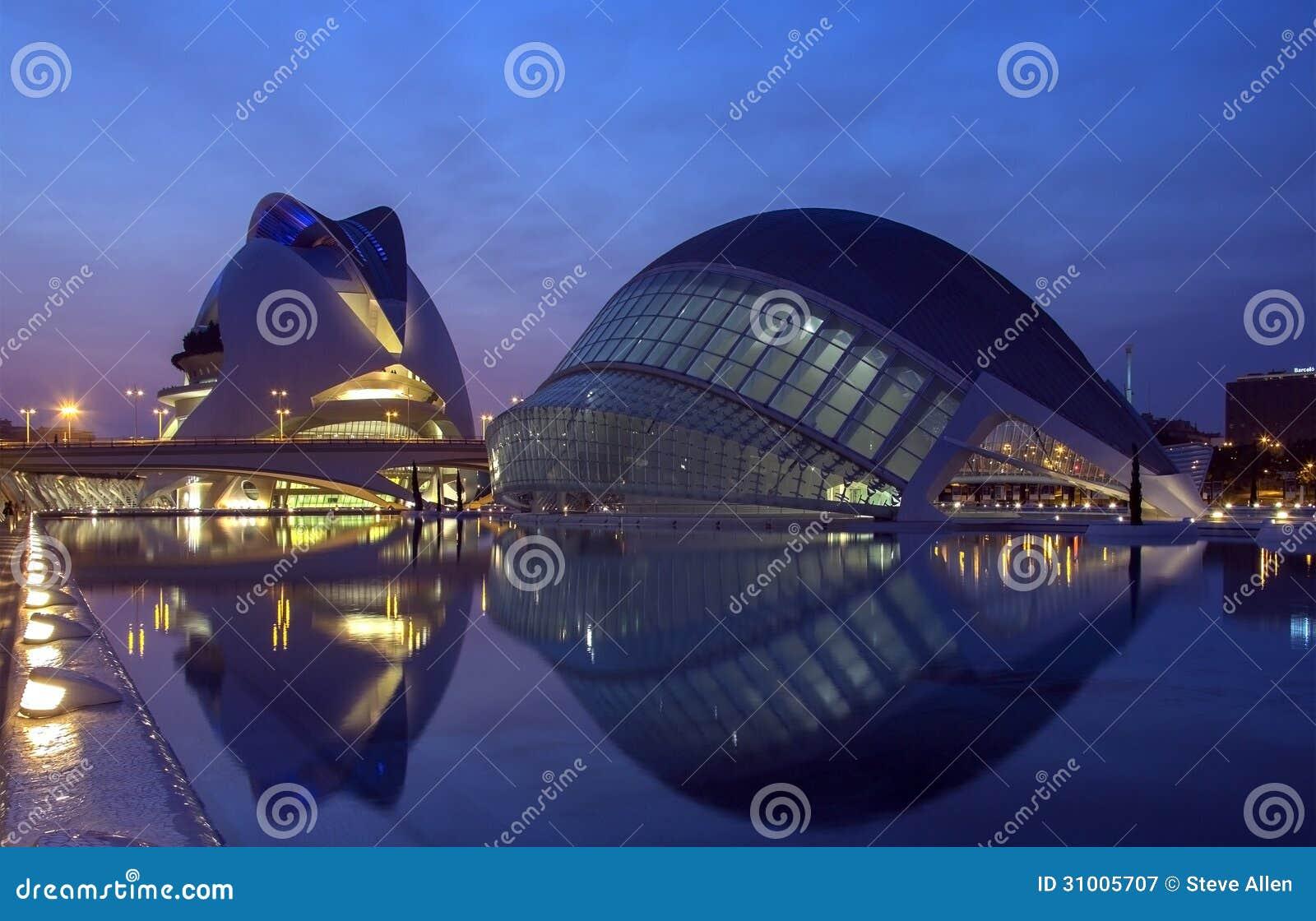 Cidade das artes & das ciências - Valência - Espanha