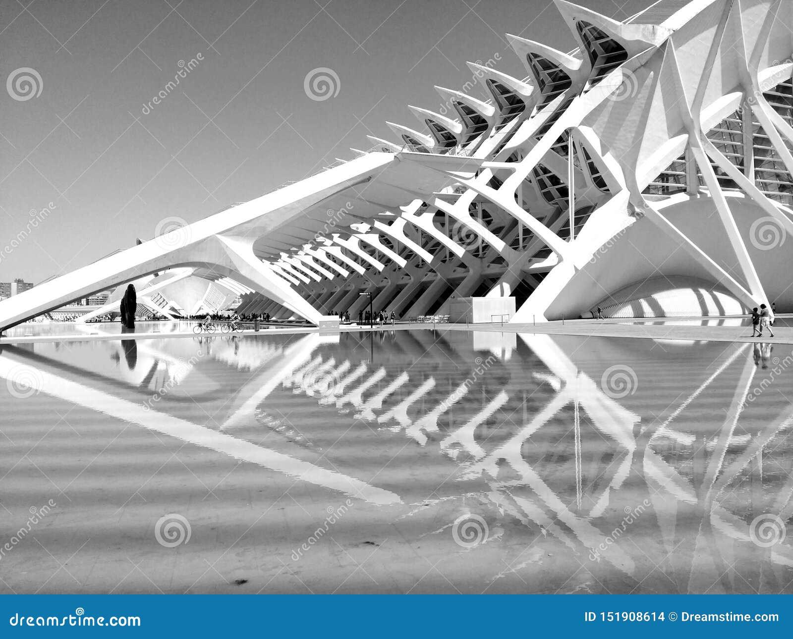 Cidade das artes e a ciência & o x28; València& x29;
