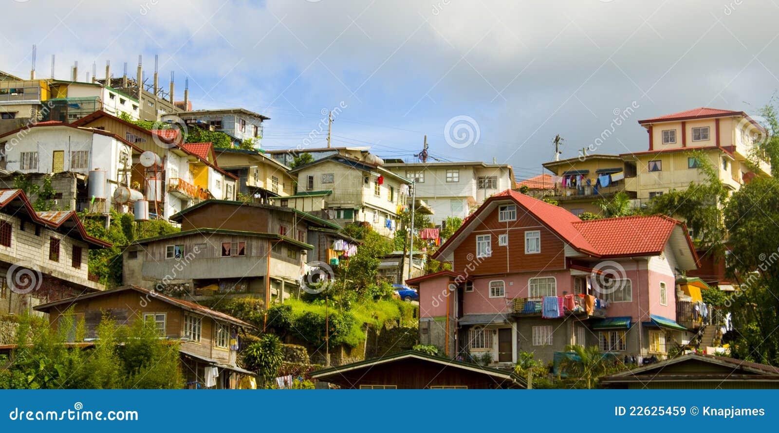Cidade de Baguio, as Filipinas