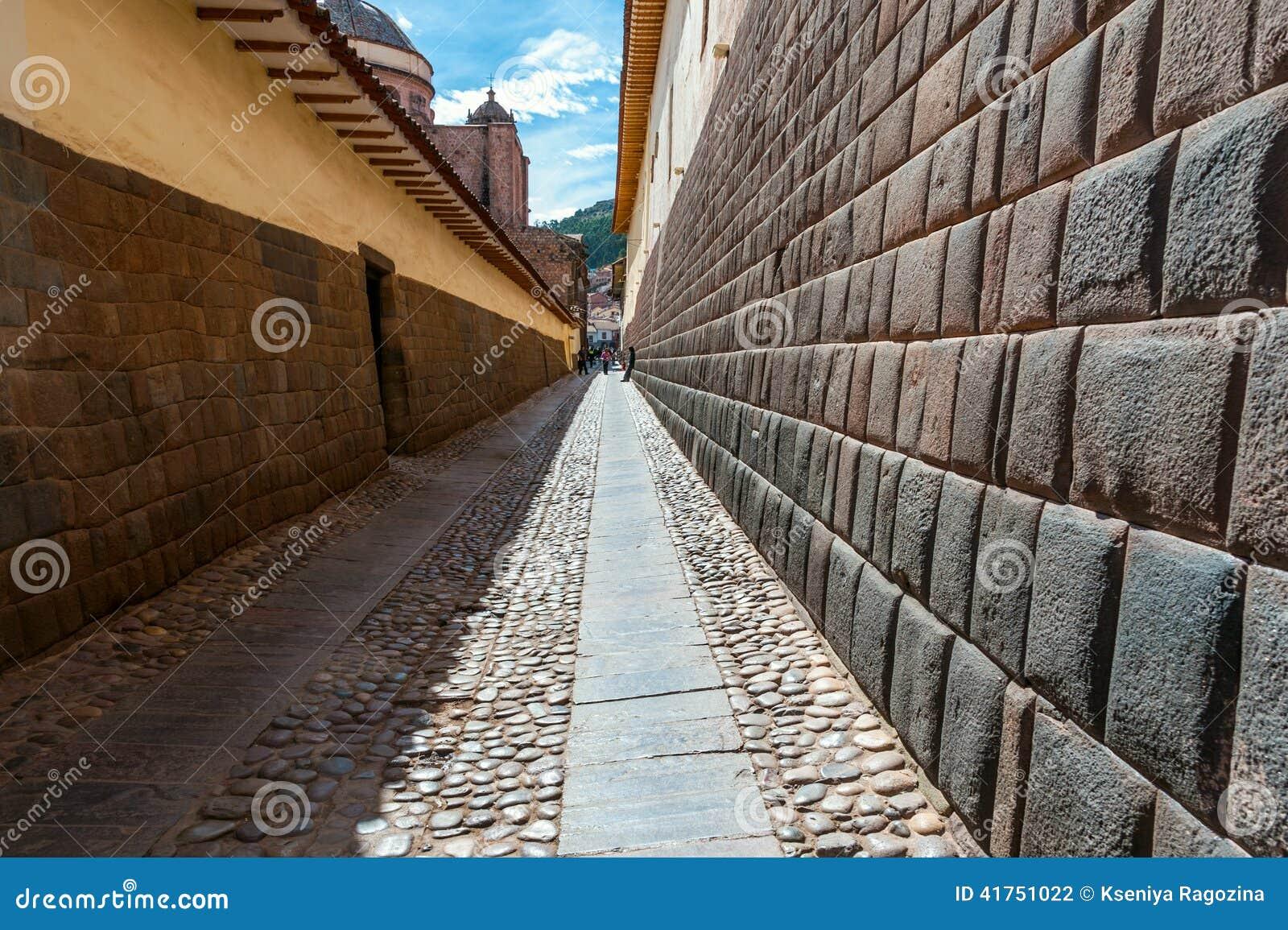 Cidade de Cuzco em Peru