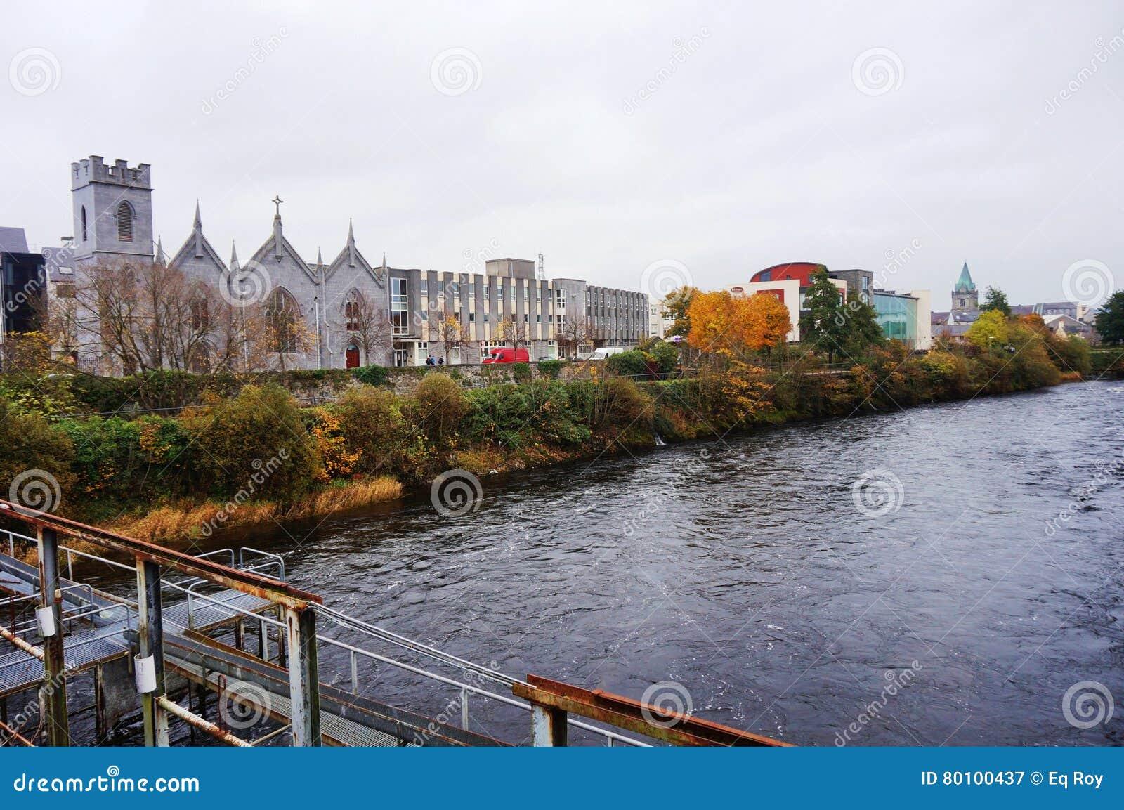 A cidade de Galway, Irlanda