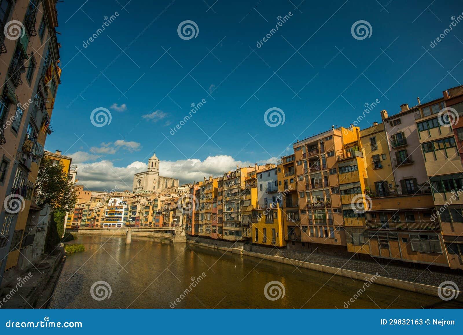Cidade européia bonita