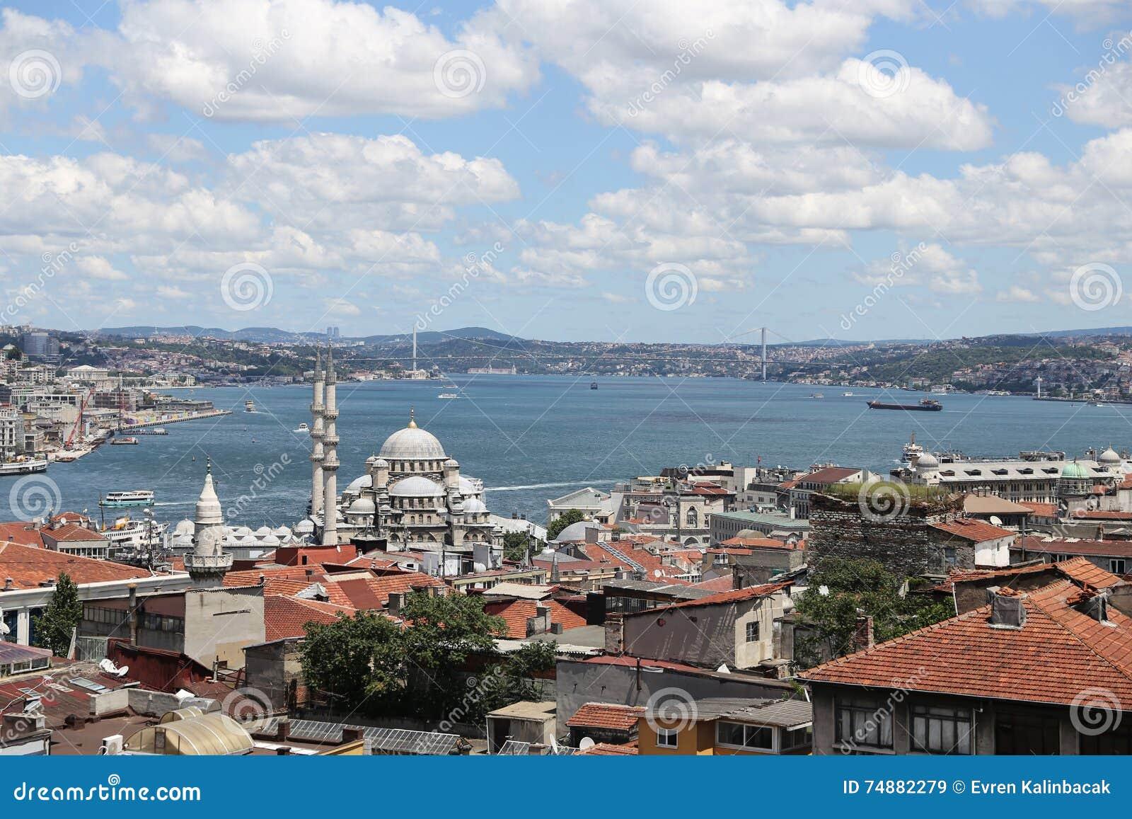 Cidade de Istambul em Turquia