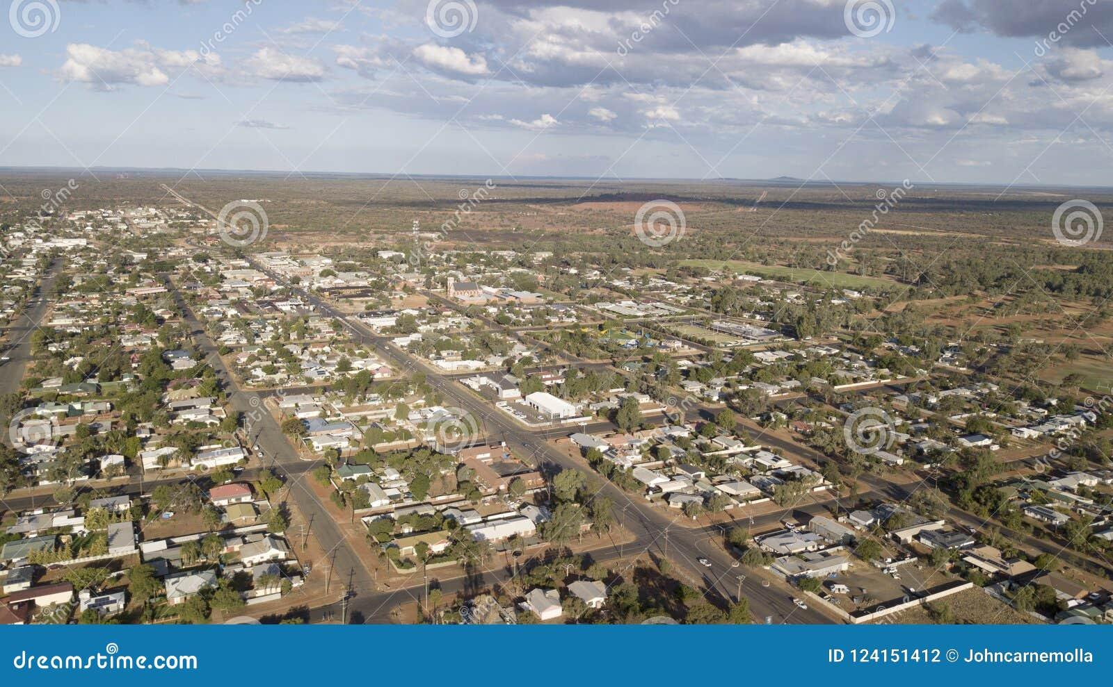 Cidade de Novo Gales do Sul de Cobar