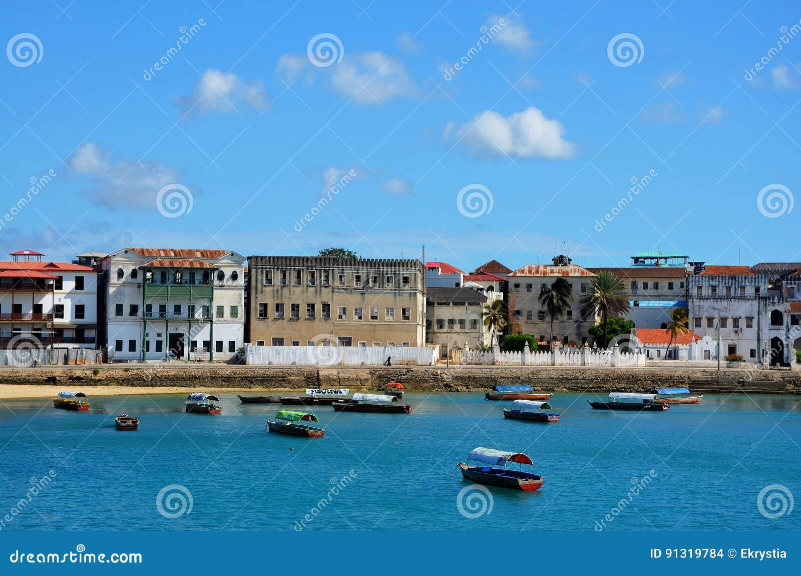 Cidade de pedra, Zanzibar