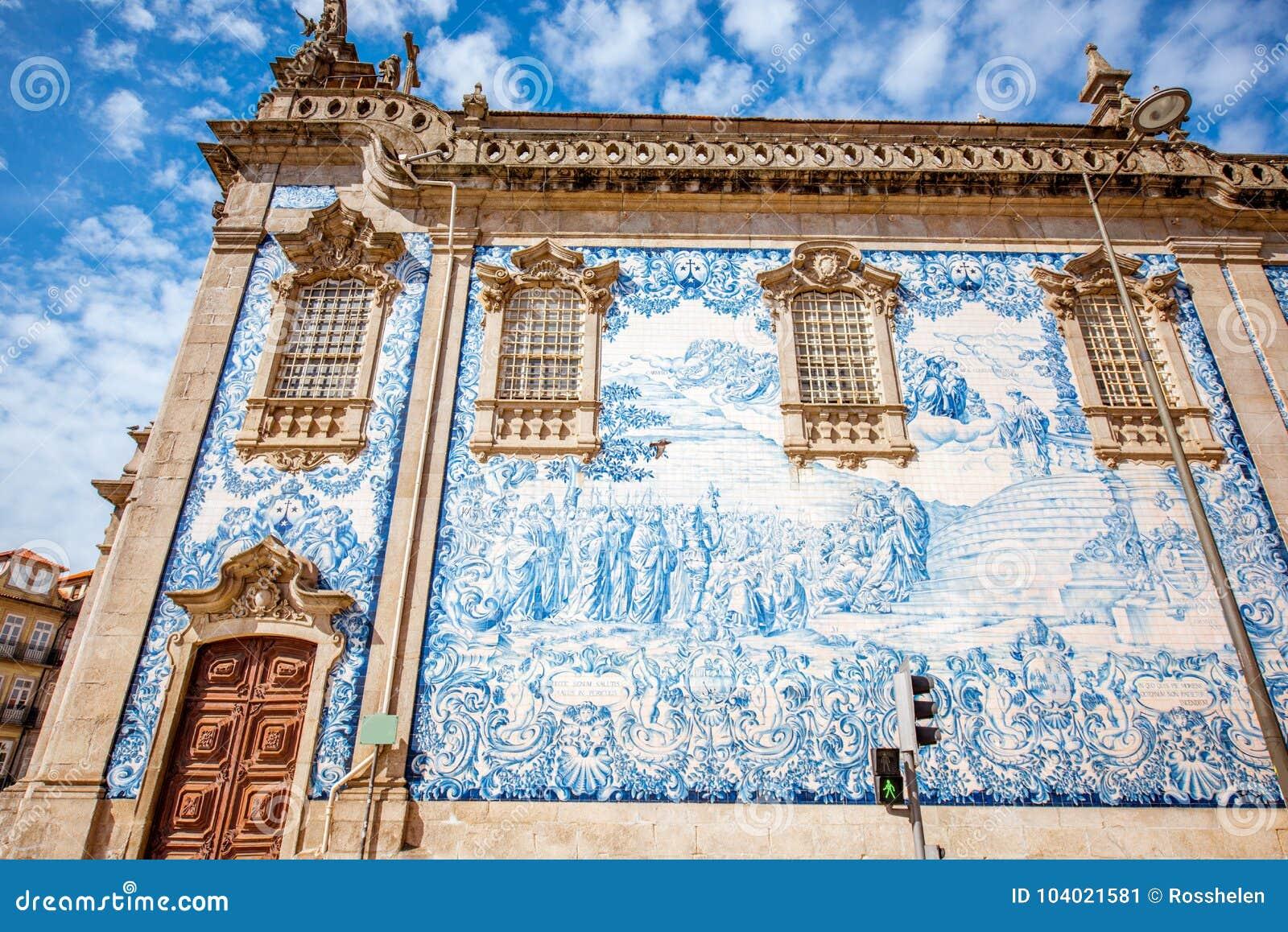 Cidade de Porto em Portugal