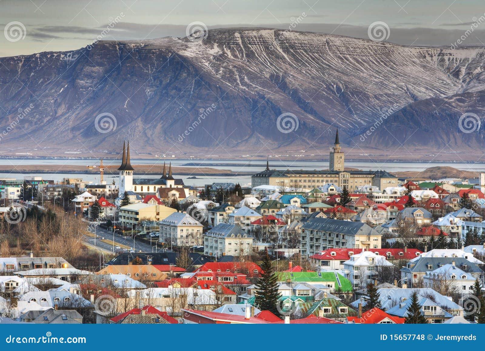 Cidade de Reykjavik