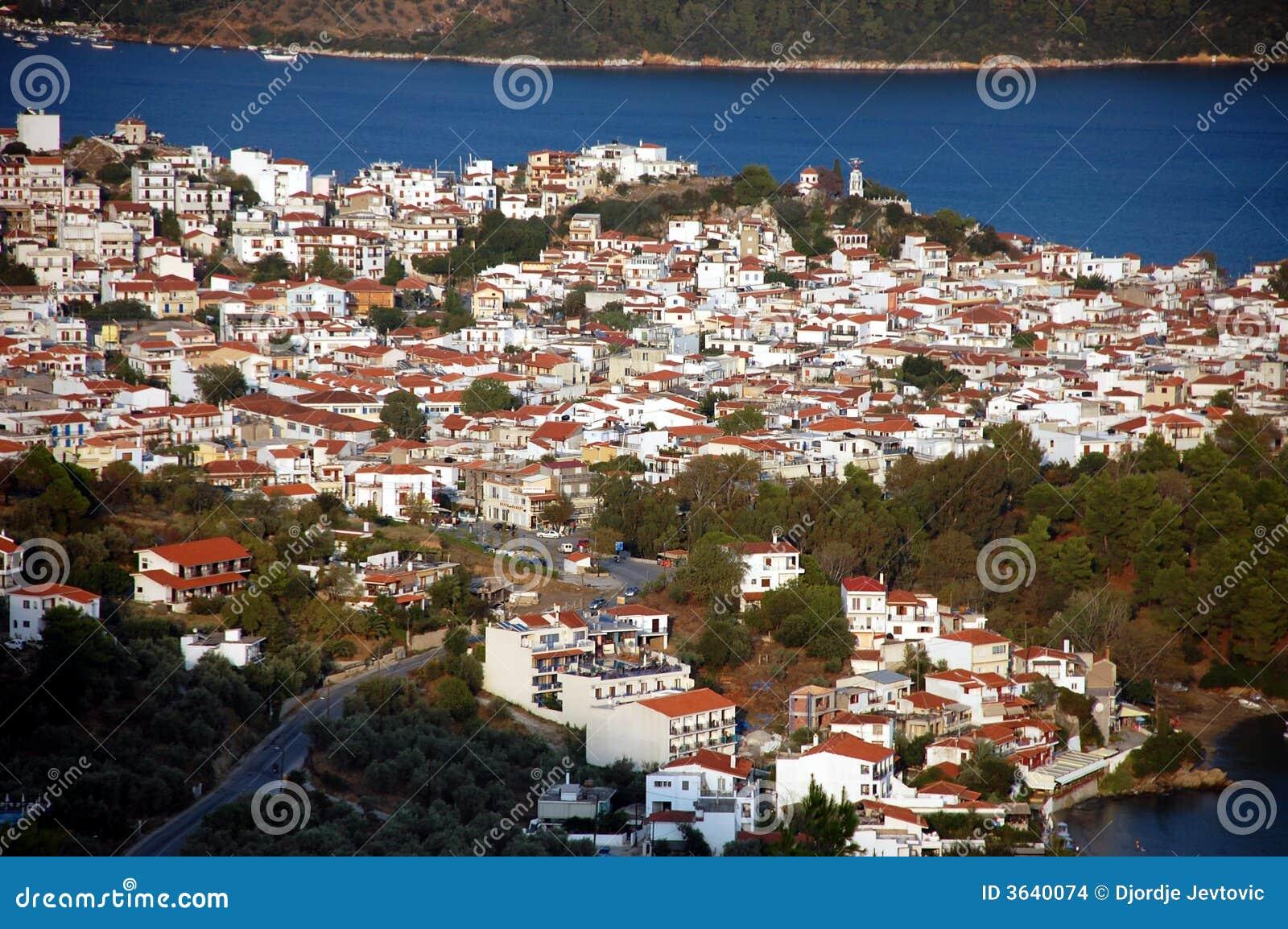 Cidade de Skiathos