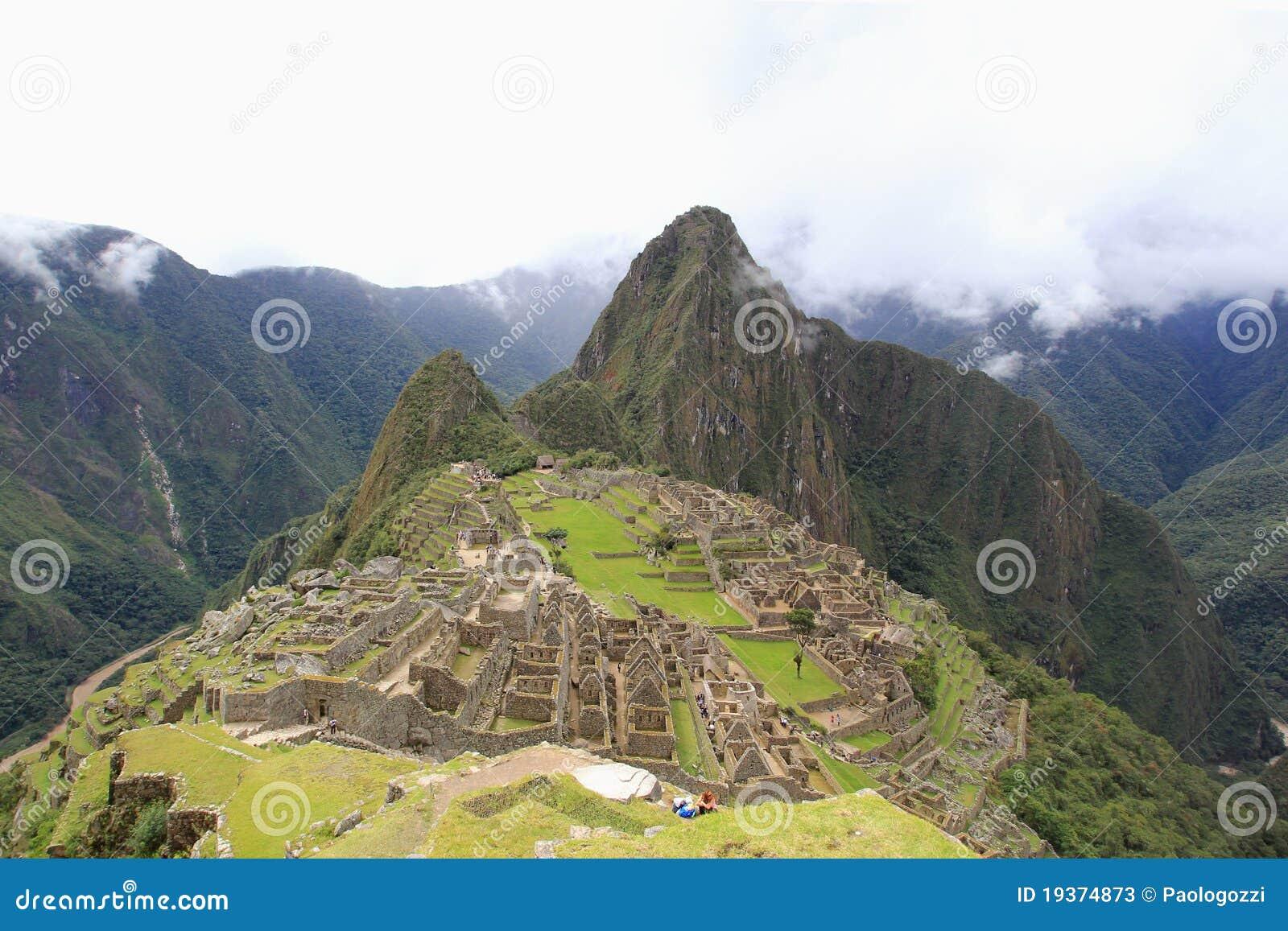 Cidade do Inca de Machu Picchu