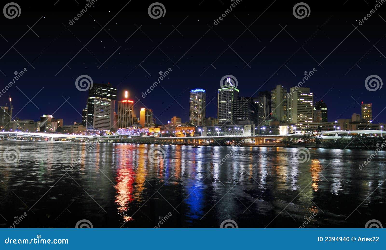 Cidade do rio do panorama