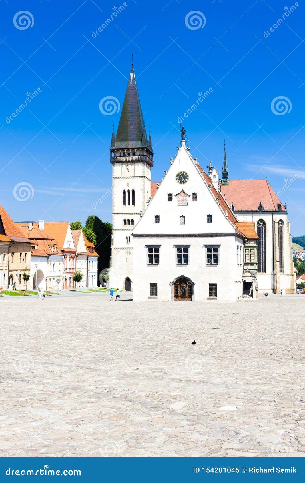 Cidade Hall Square, Bardejov, Eslov?quia