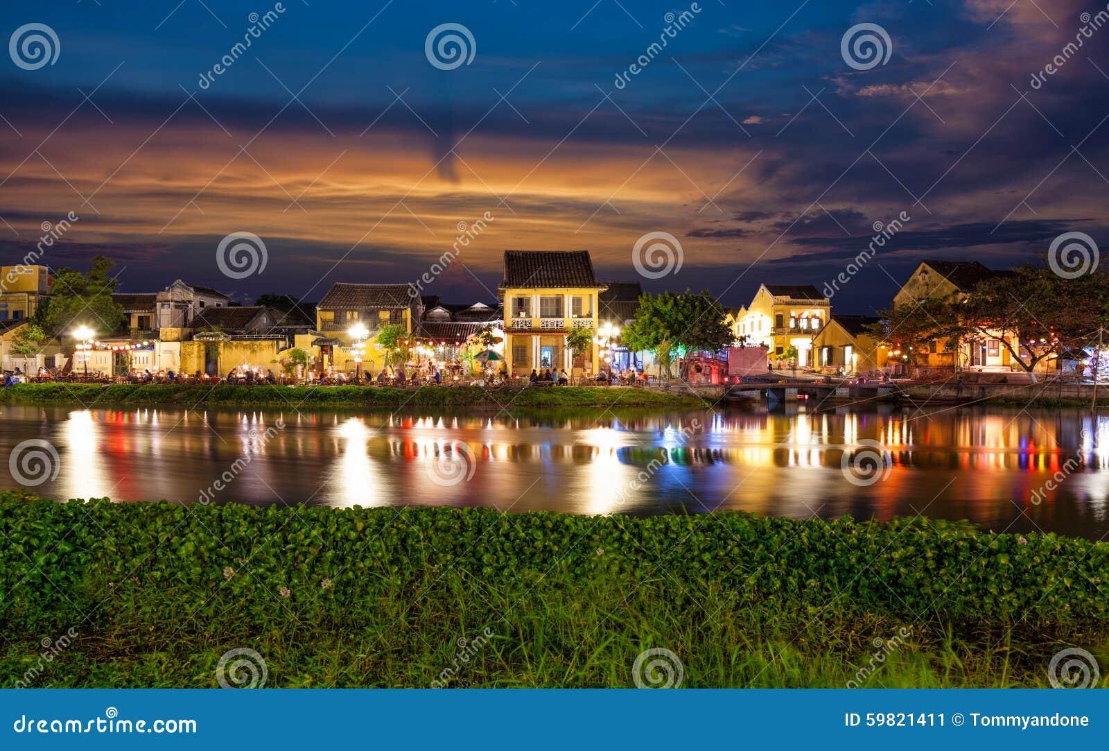 Cidade histórica de Hoi An em Vietname