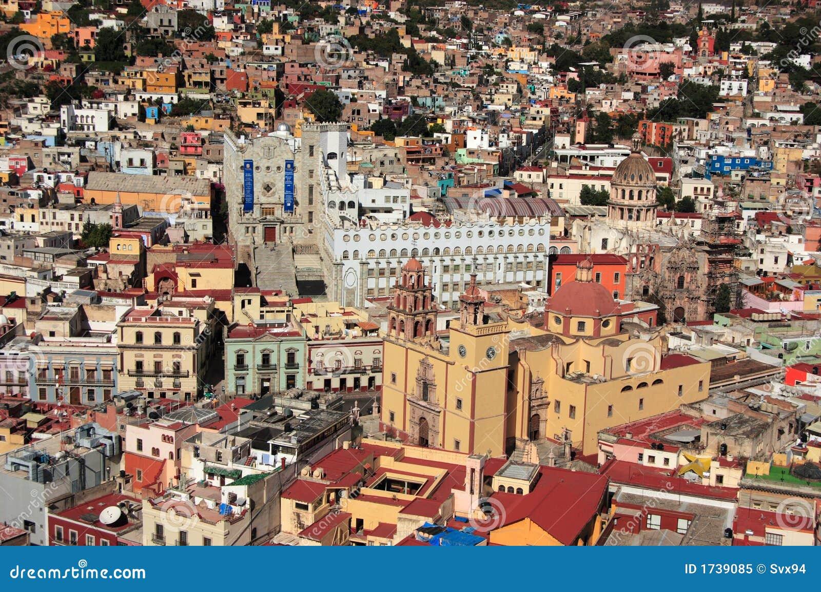 Cidade histórica do UNESCO de Guanajuato, Guanajuato, México