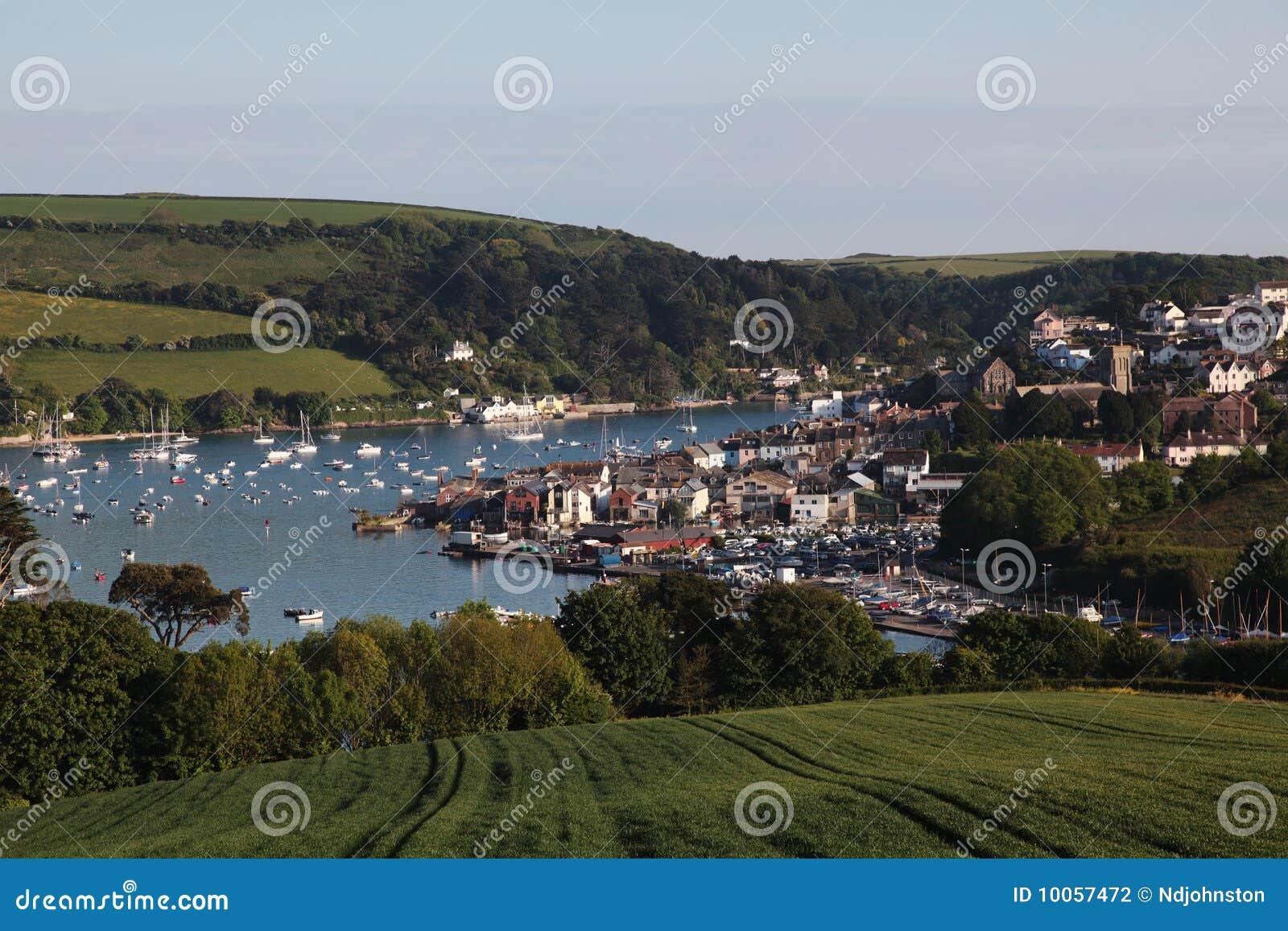 Cidade inglesa do beira-mar, Salcombe