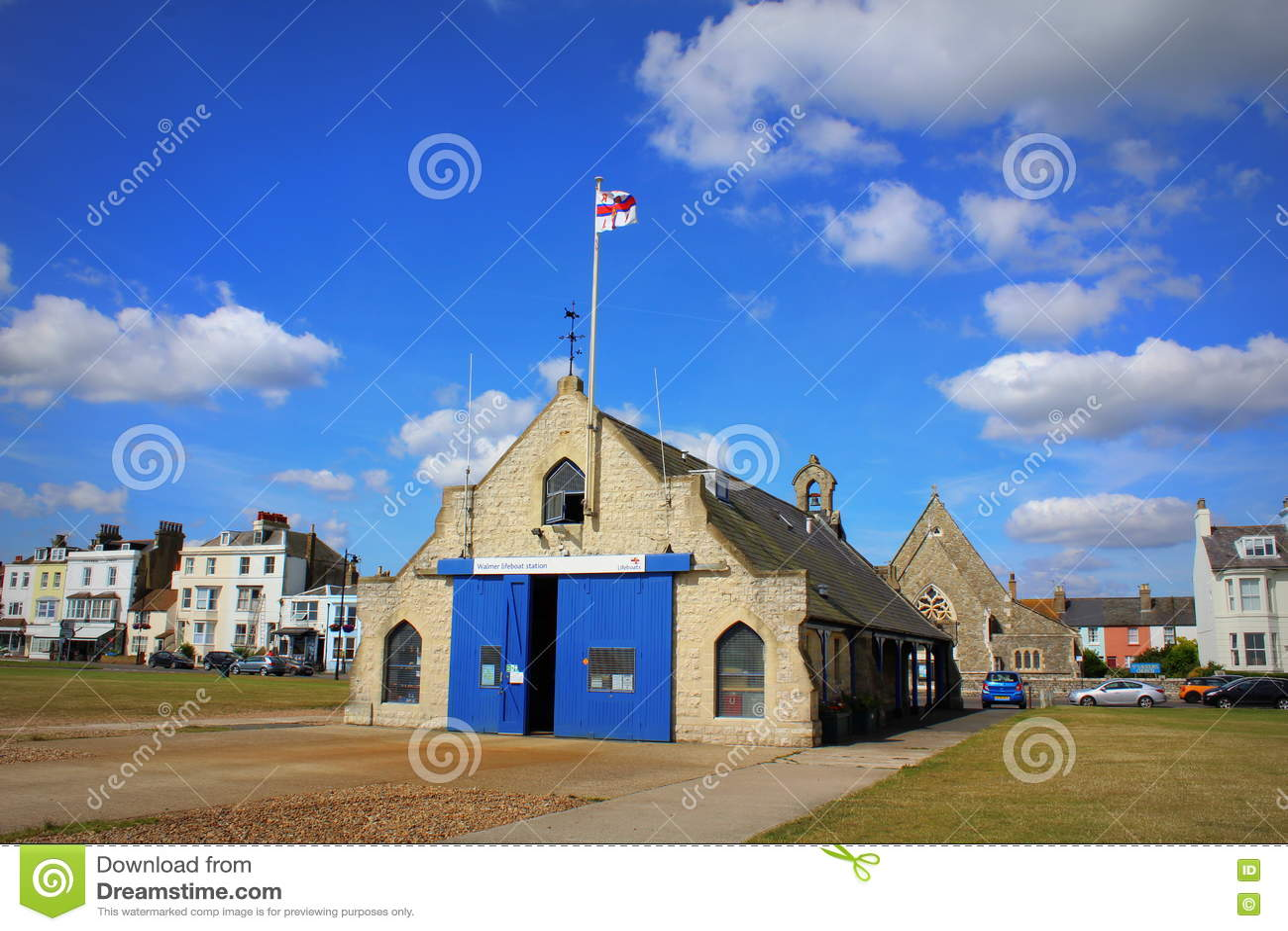 Cidade Kent England de Walmer