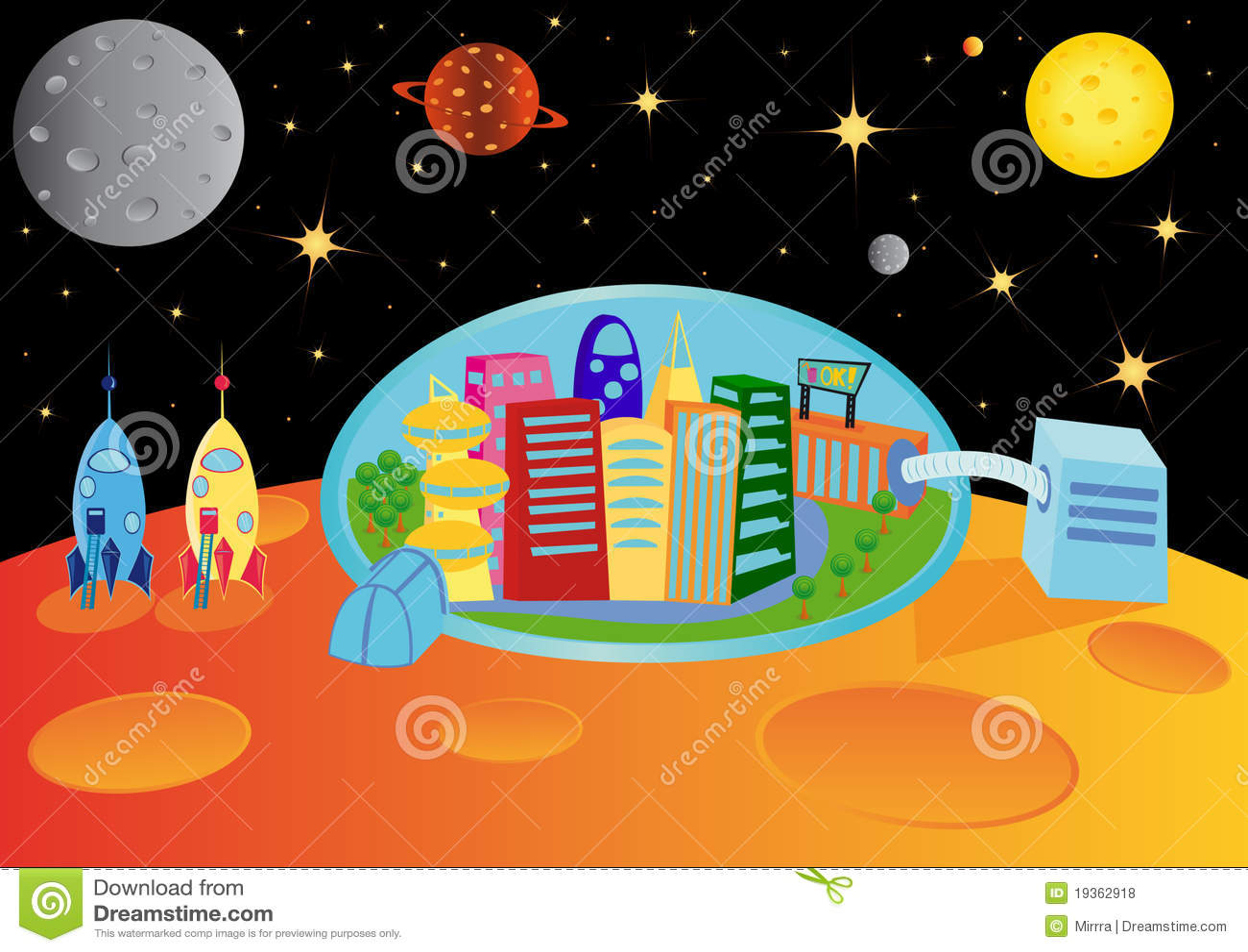 Cidade no universo