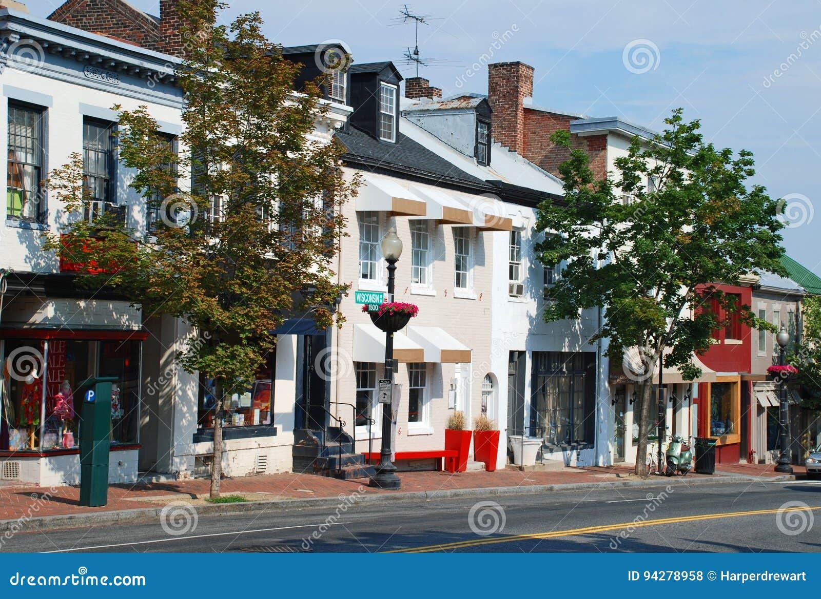Cidade pequena Main Street