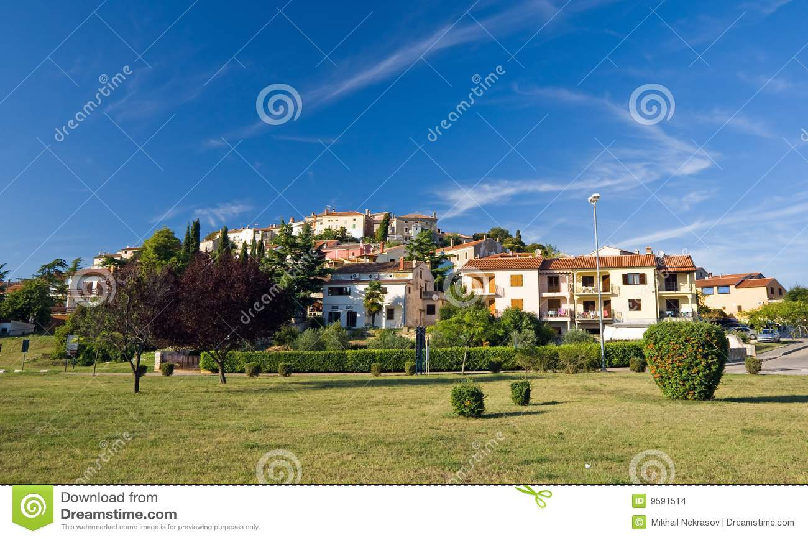 Cidade pequena Vrsar