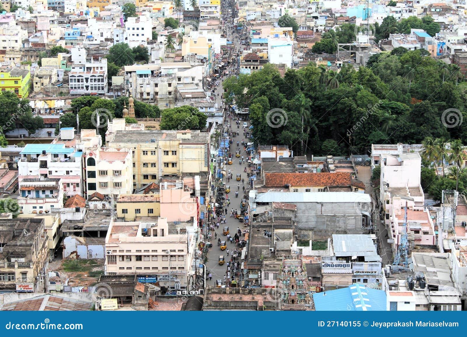 Cidade urbana ocupada - Trichy