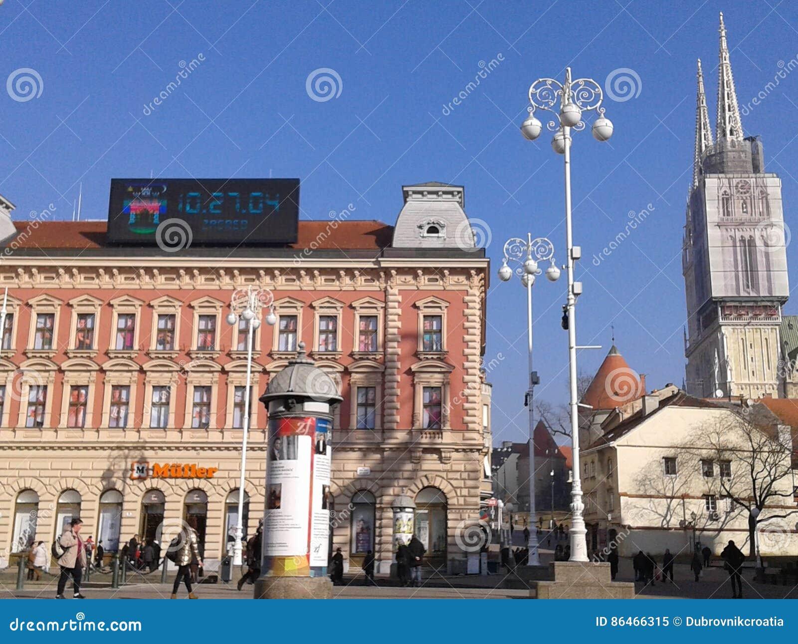 Cidade velha - Croácia de Zagreb