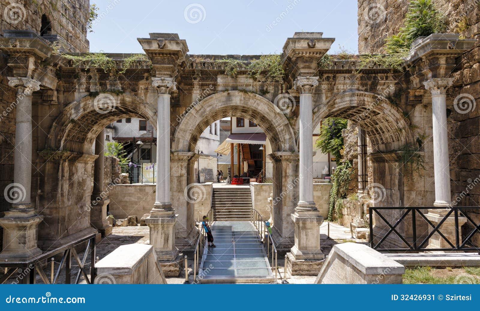 A cidade velha de Antalya