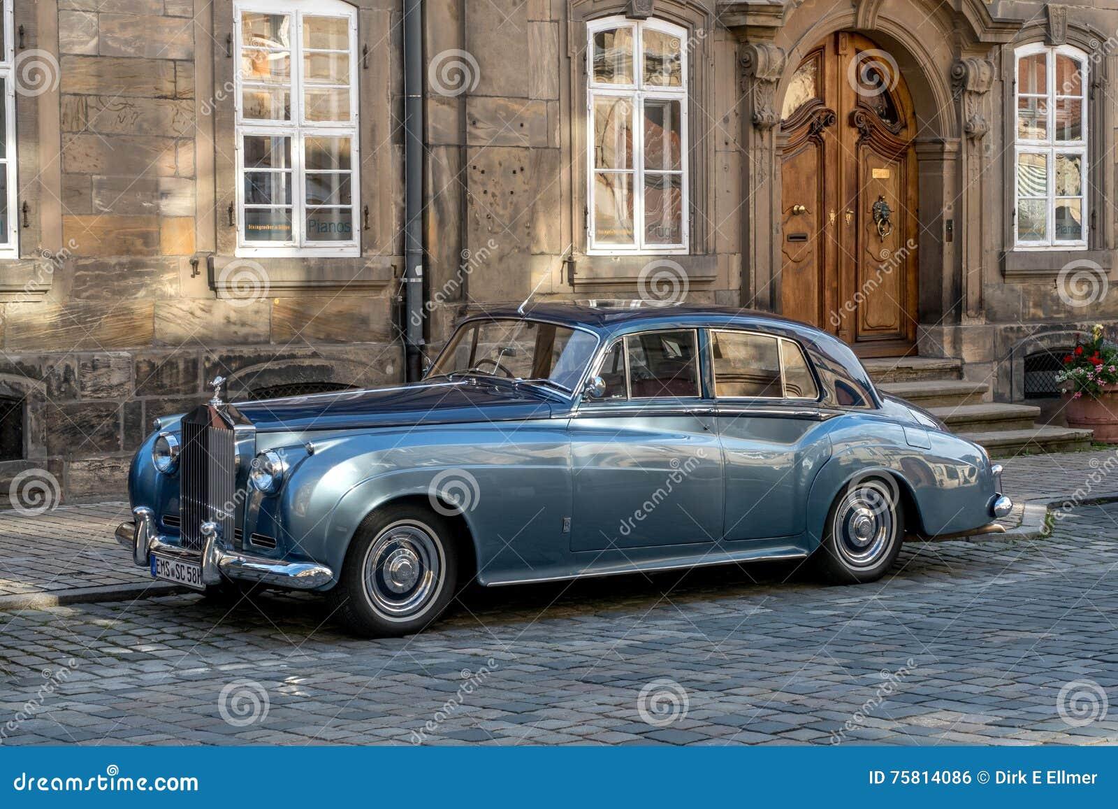 Cidade velha de Bayreuth - Rolls Royce