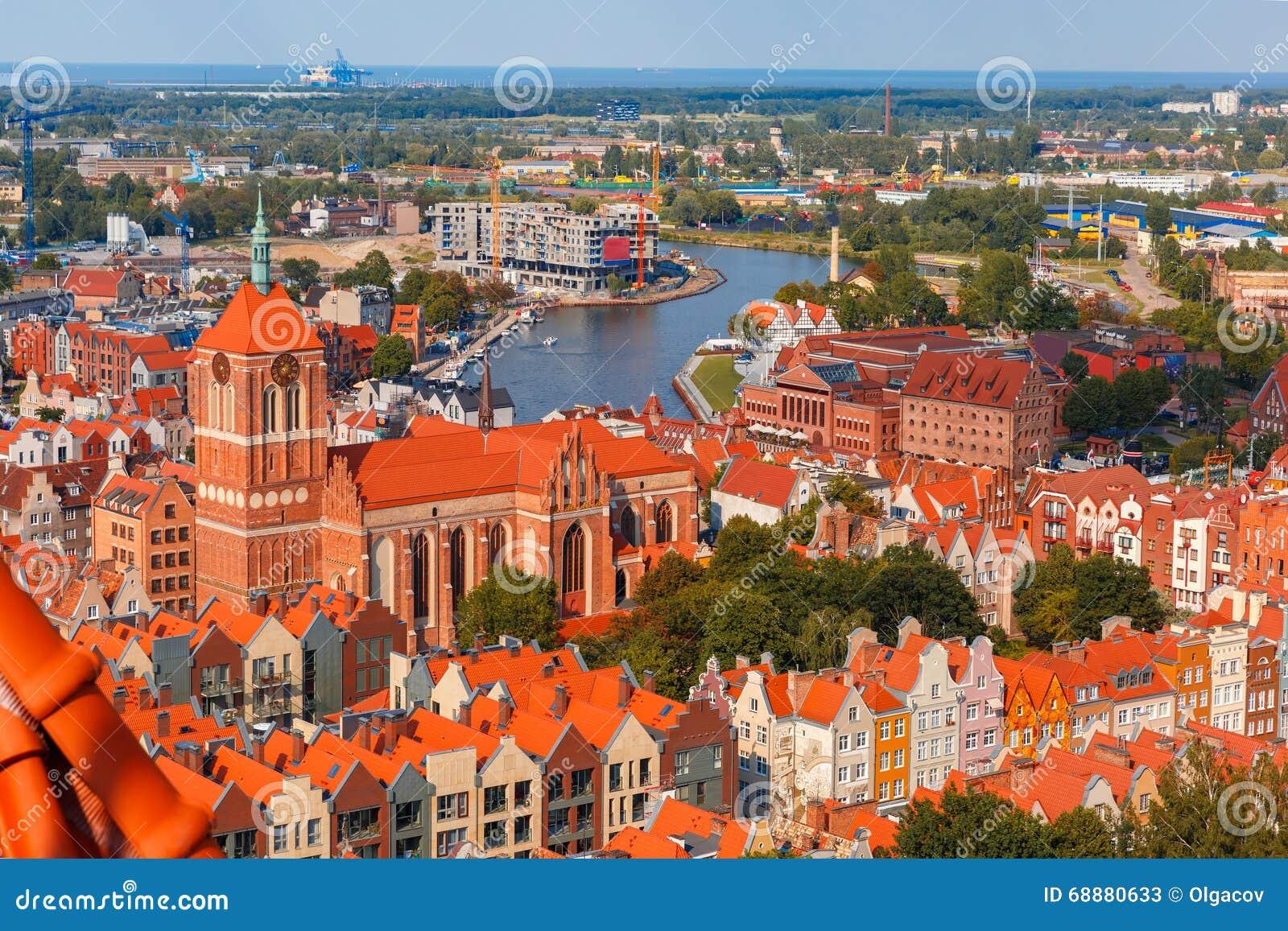 Cidade velha de Gdansk, Poland