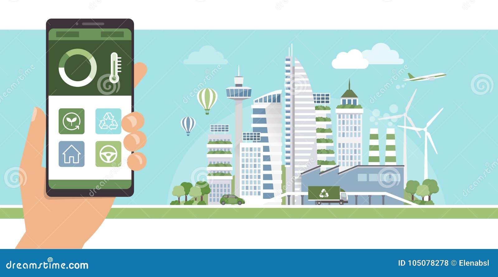 Cidade verde app