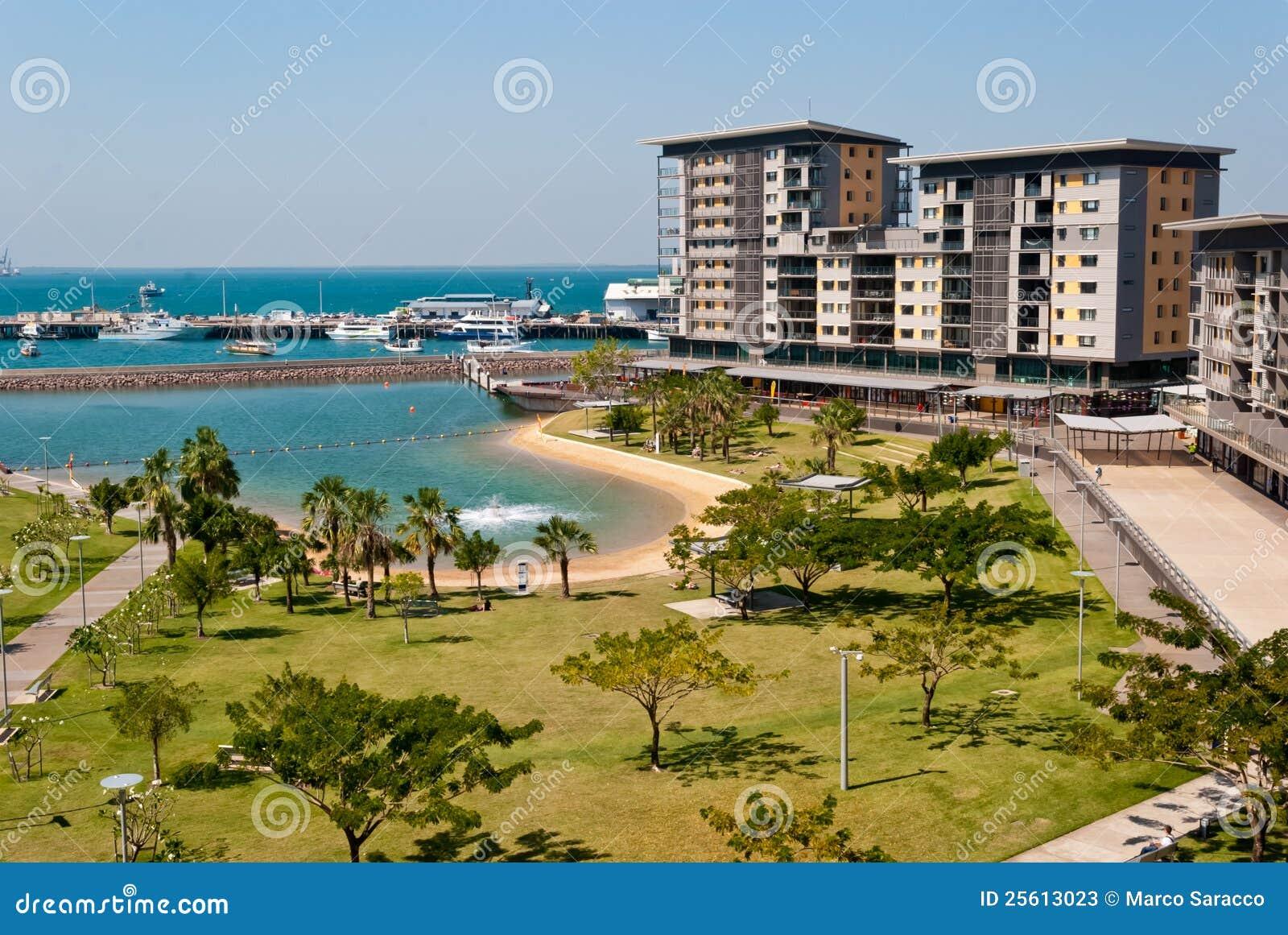 Cidade Waterfron de Darwin