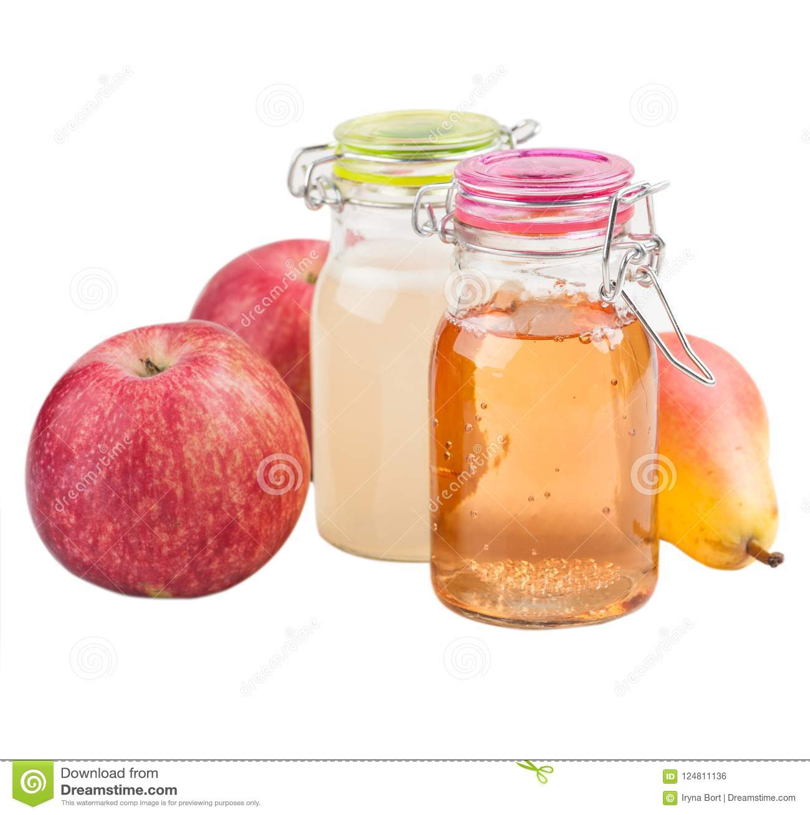 Cidre fait maison de pomme et de poire