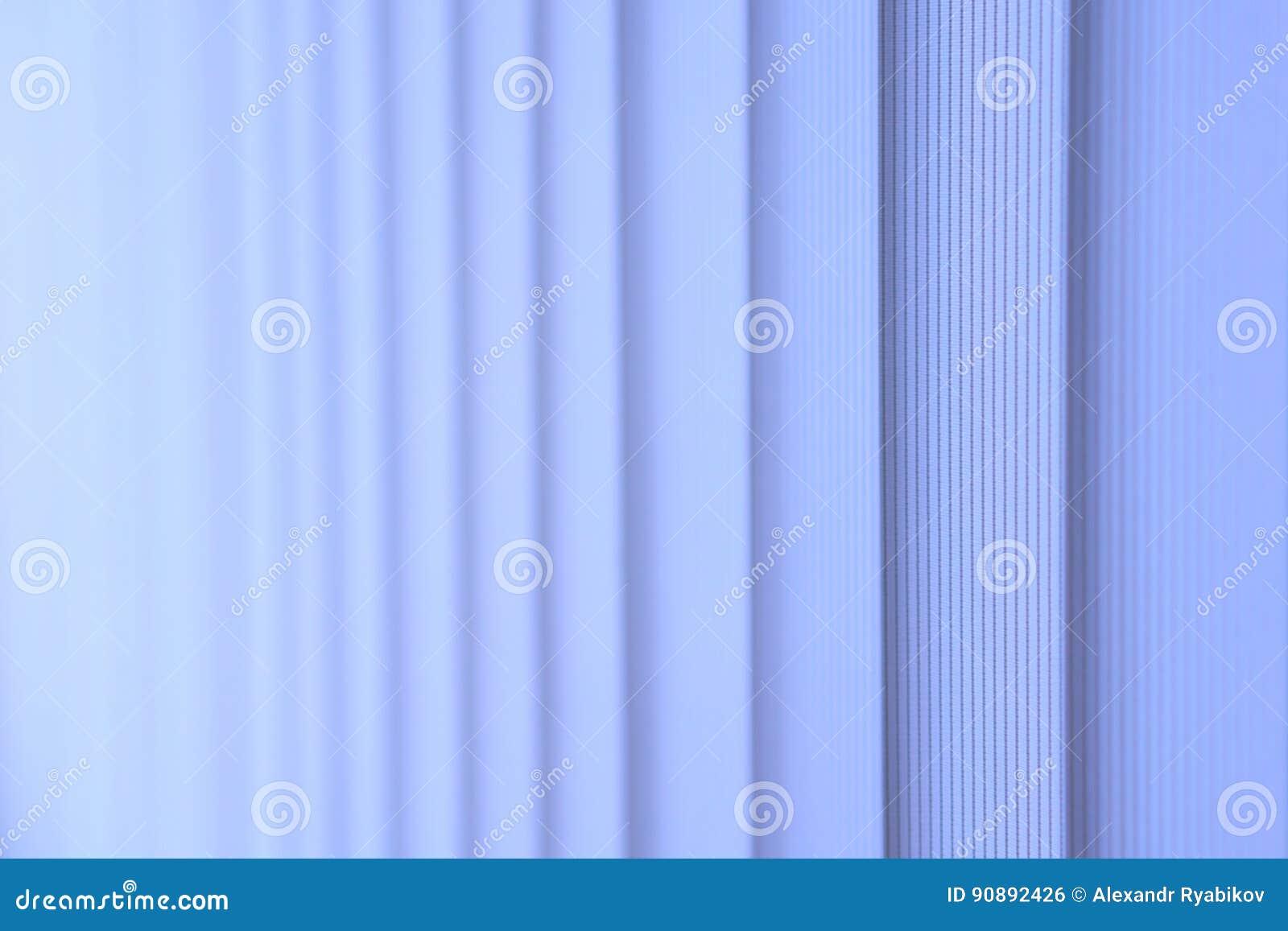Ciechi blu di verticale