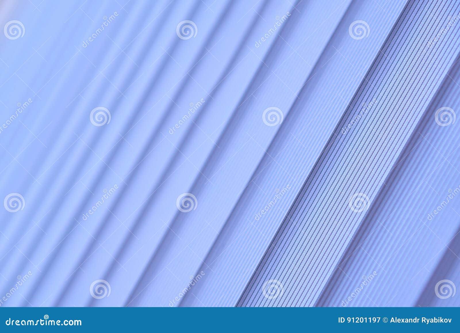 Ciechi blu di verticale Fuoco selettivo molle