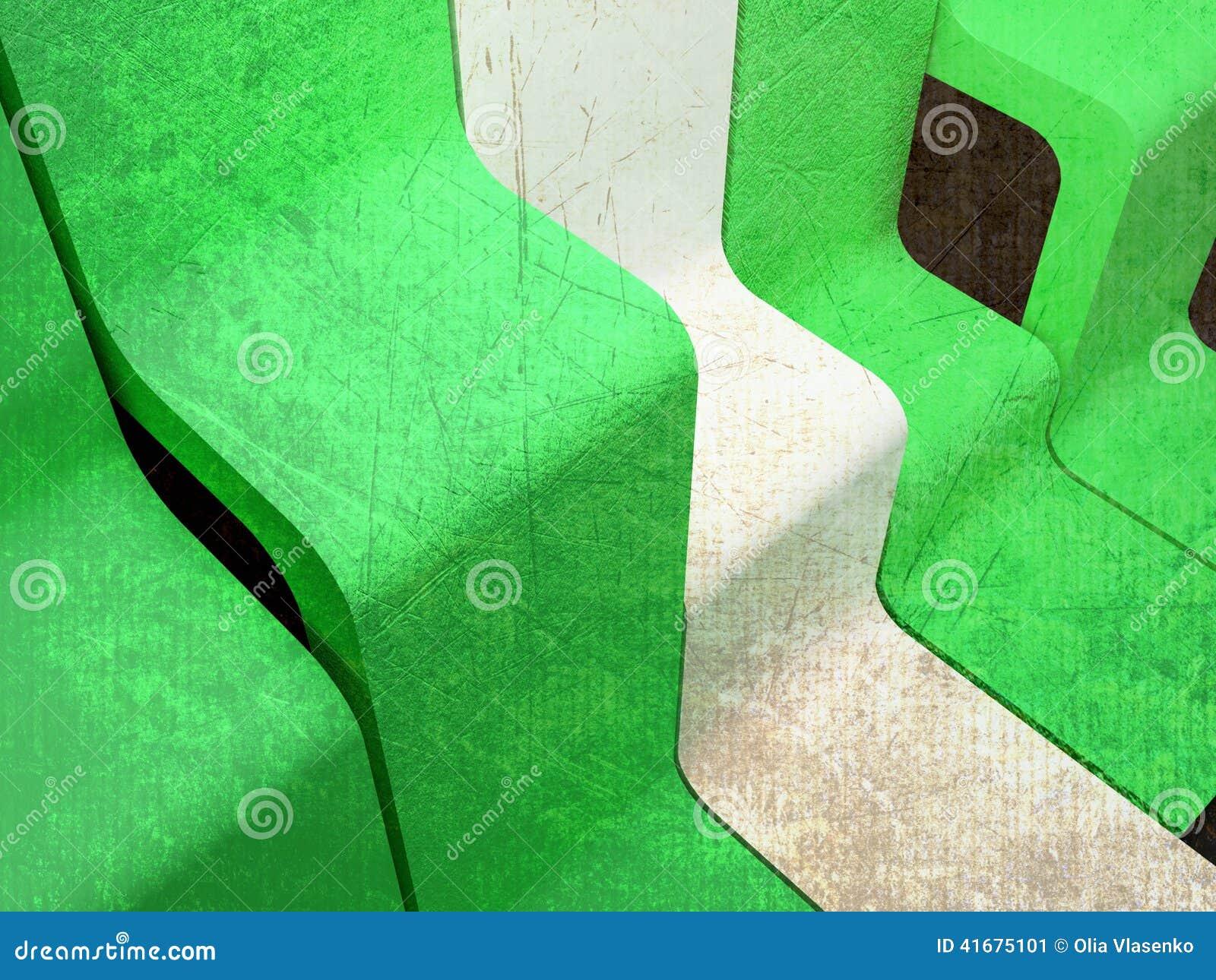 Ciekawy abstrakcjonistyczny skład