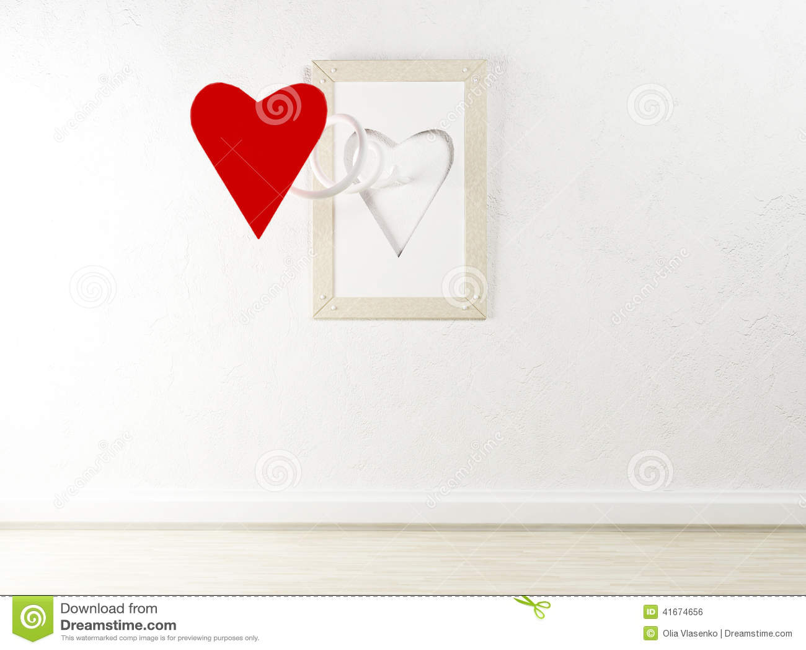 Ciekawy obrazek na ścianie