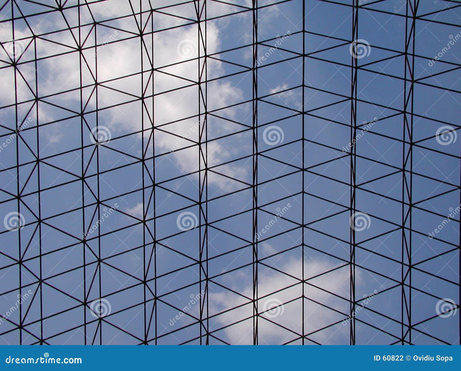 Download Ciel photo stock. Image du bleu, métal, fond, texture, nuage - 60822