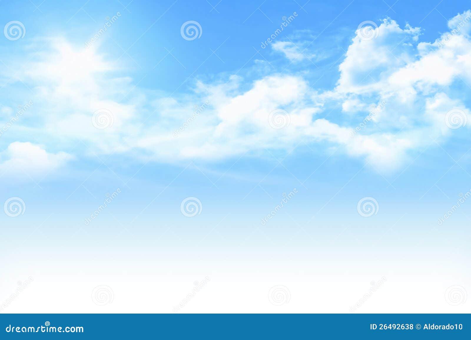 Ciel bleu clair photos libres de droits image 26492638 - Image ciel bleu clair ...