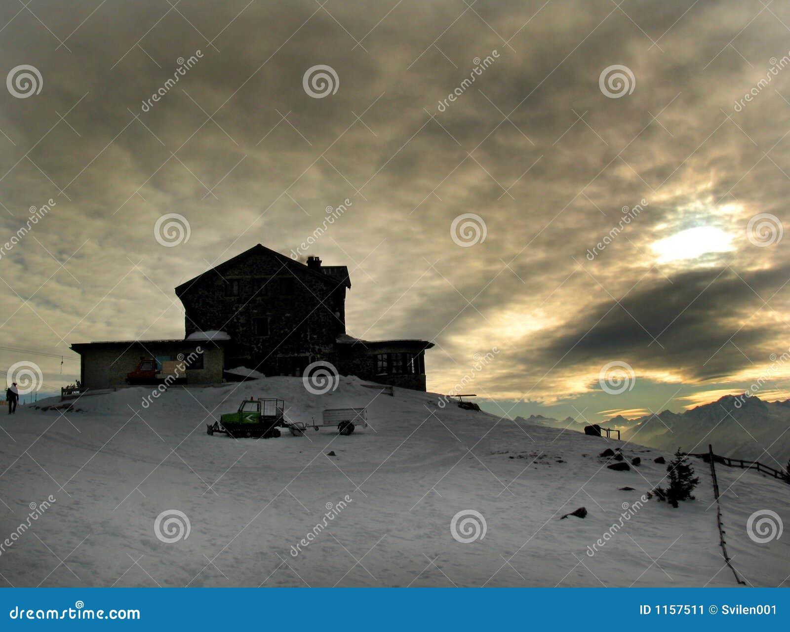 Ciel de l hiver