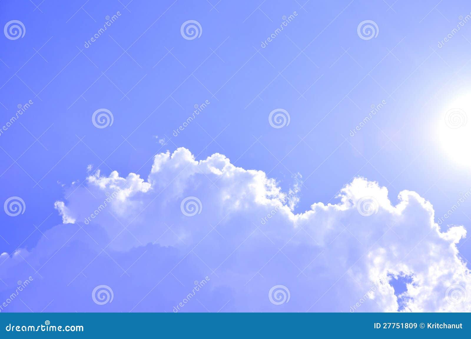 Ciel ensoleillé