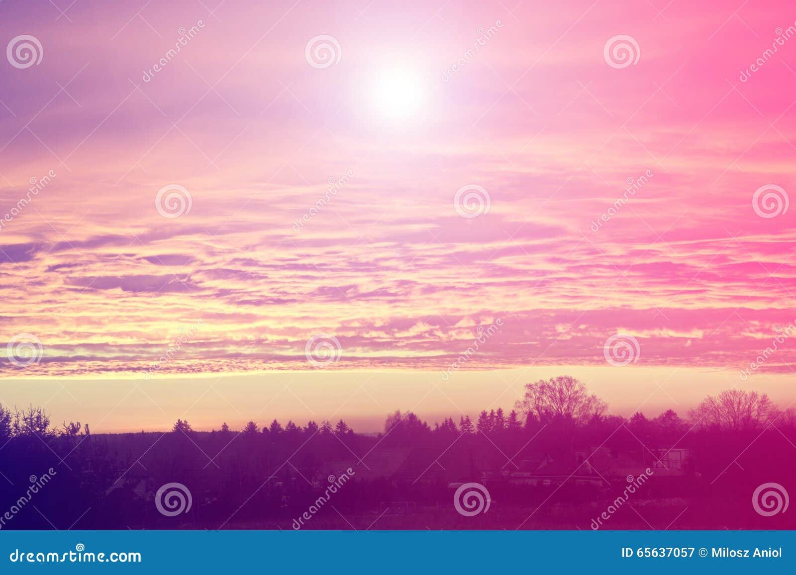 Ciel et soleil