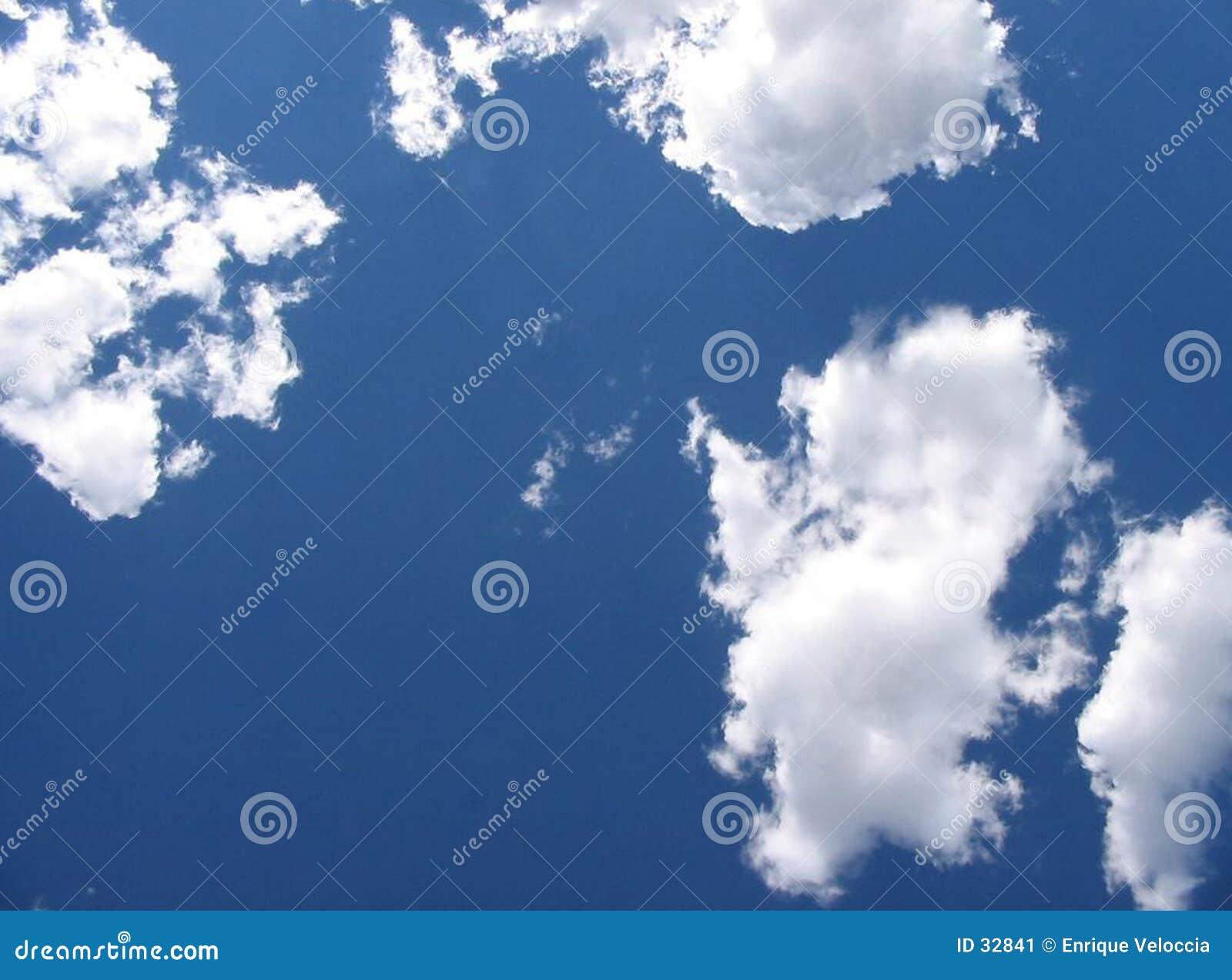 Download Cielo imagen de archivo. Imagen de paraíso, azul, blanco - 32841